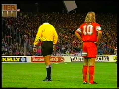 Switzerland v Scotland European Championship Qualifier 1991 (Full Match)