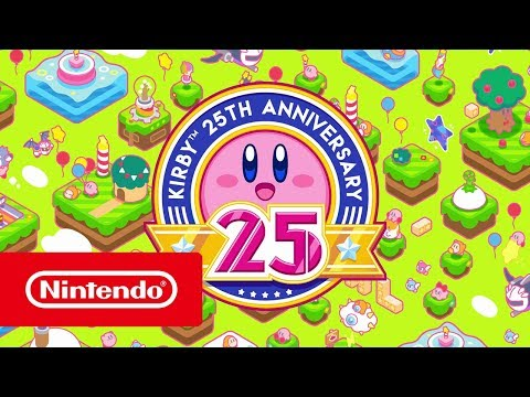 Kirby 25th Anniversary - Trailer