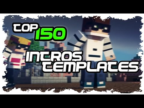 150 INTROS MINECRAFT 3D INTRO TEMPLATES PVP FREE INTROS EDITABLES MINECRAFT C4D AE  BLENDER