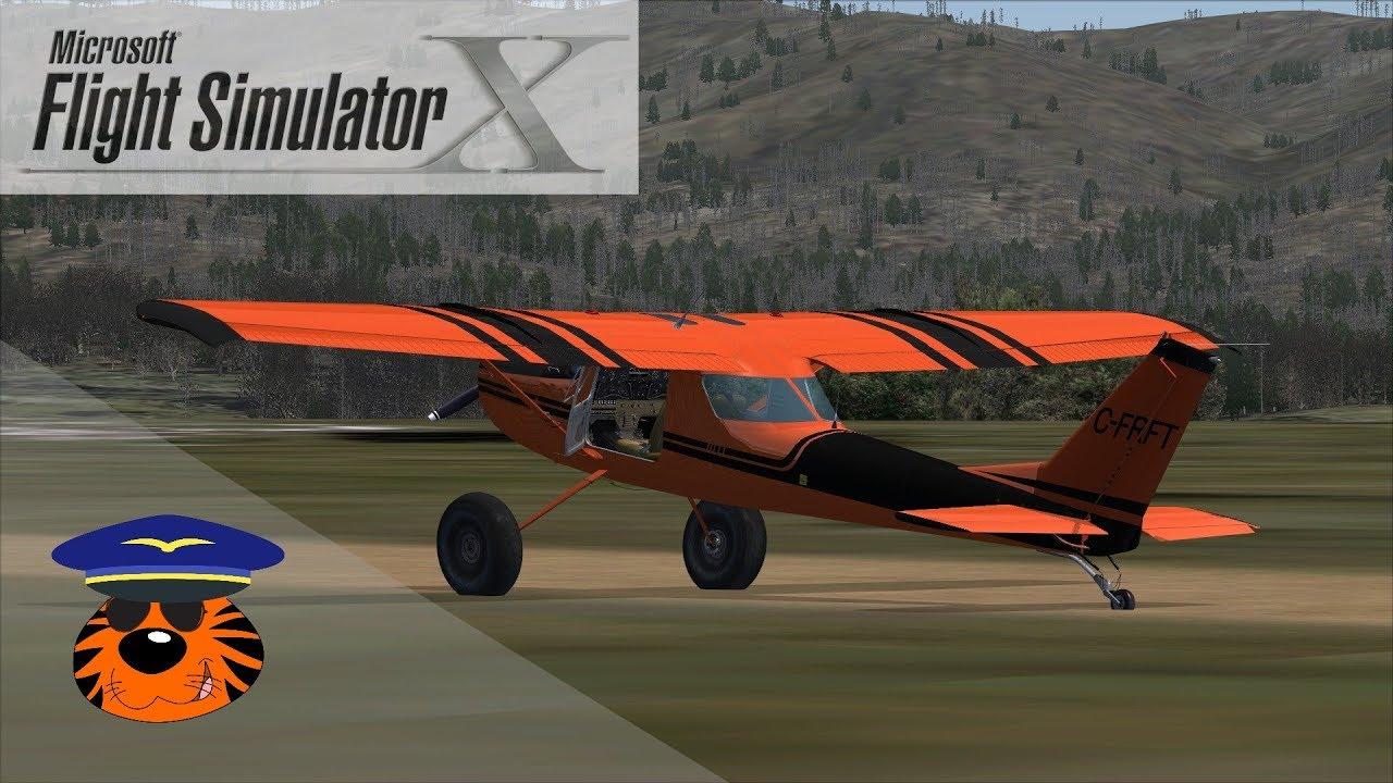 FSX Freeware Aircraft: Cessna 150 K Ti Bush by Lagaffe