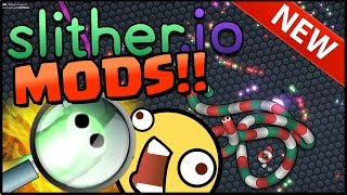 SLITHER.IO MODS HIGHSCORE! SLITHER.IO MODDING Gameplay Zoom Out, Play Friends, Slither.io Hack / mod