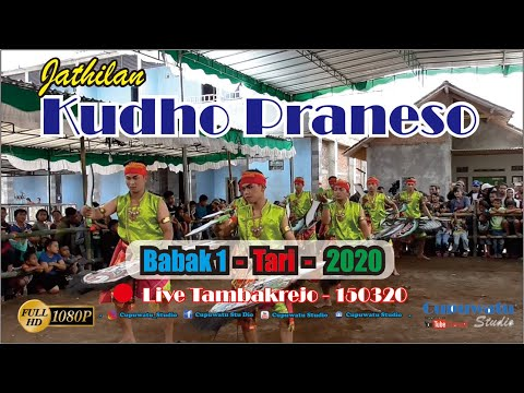 KUDHO PRANESO Babak 1 Live Tambakrejo 150320-Jathilan