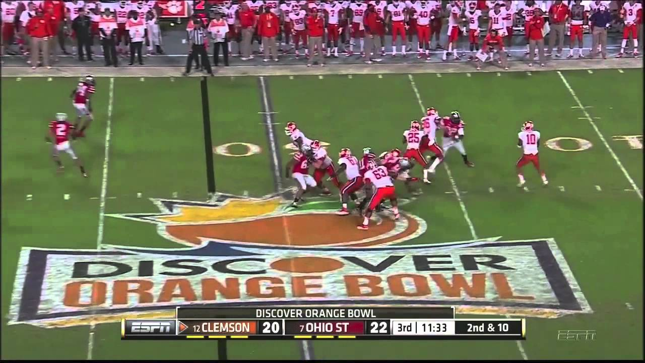 Ohio State vs Clemson 2014 Orange Bowl Highlights  YouTube