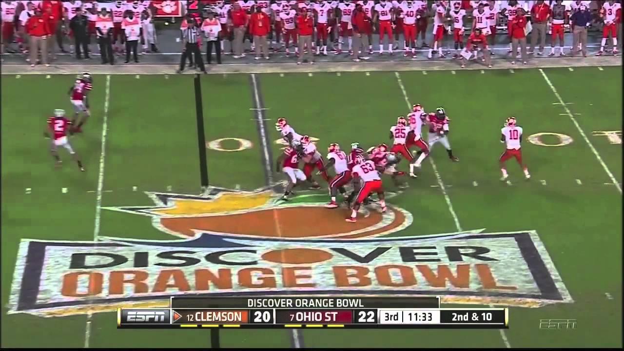 Orange Bowl 2014 Ohio State vs Clemson ...