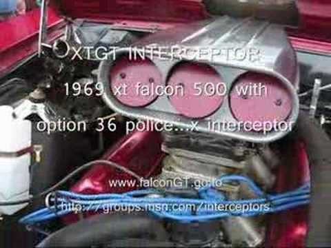 INTERCEPTOR falcon GT XT  POLICE OPTION 36