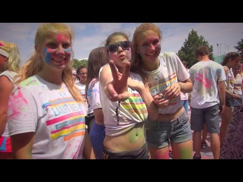 The Color Run Stuttgart 2015 - Afterparty Girls
