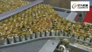 Sardine canned production line