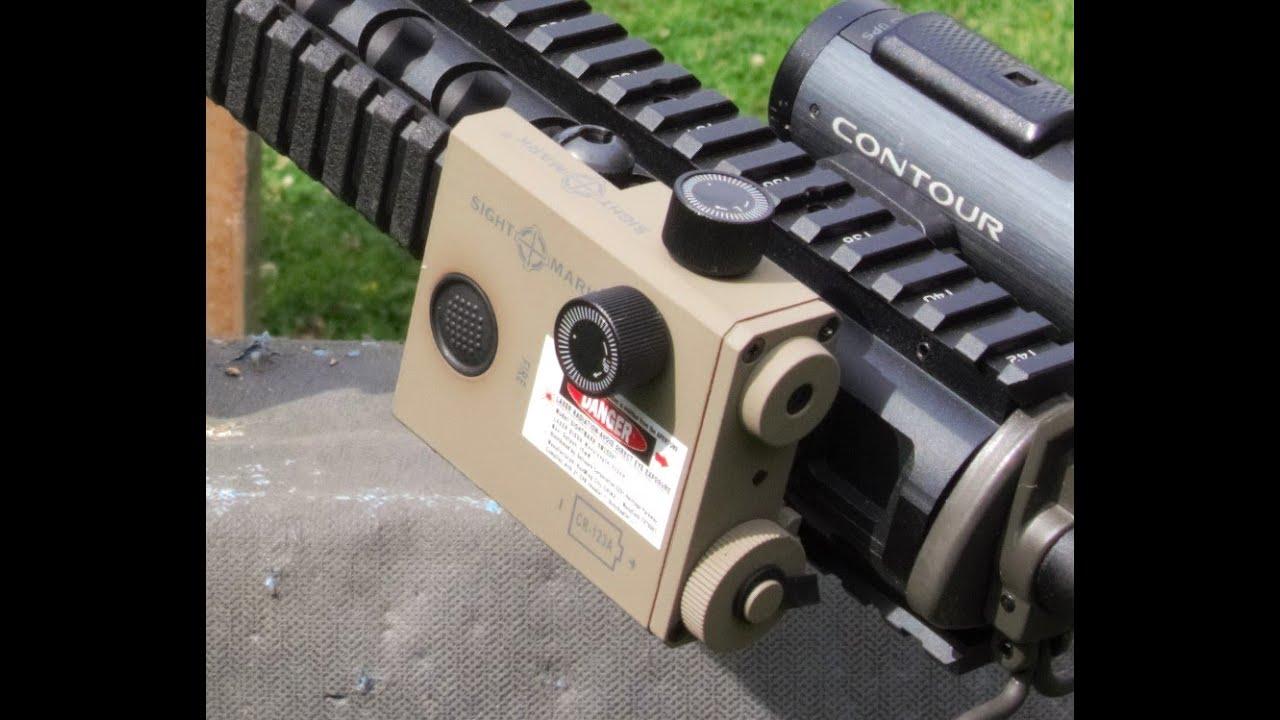 Sightmark Lopro Green Laser Youtube