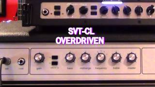 Ampeg Portaflex and SVT Comparison