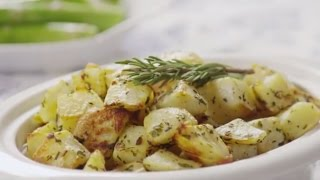 Healthy Recipes - How To Make Oven Roasted Potatoes