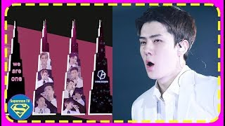 First Ever K-Pop Artist, EXO will Have a Light and Sound Show Showed on Burj Khalifa..