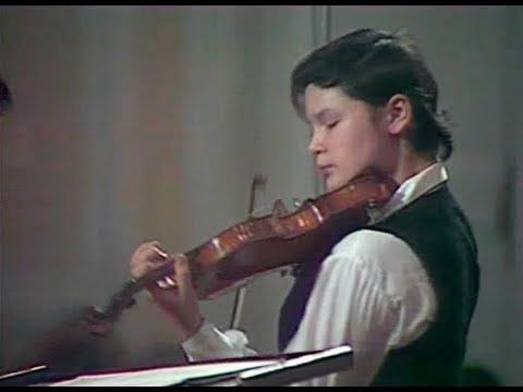 Vadim Repin plays Tchaikovsky Violin Concerto, op. 35 - video 1986