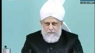 Friday Sermon 29 th October  2010 Part 2