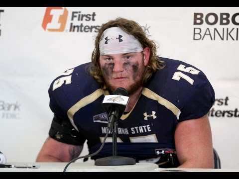 Montana State press conference - post North Dakota: MSU Players