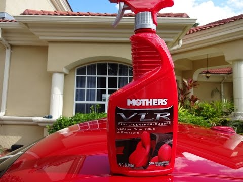 Mothers VLR Vinyl Rubber Leather Review and Test Results on my 2009 370z