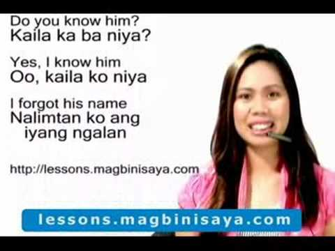 How to Speak Cebuano : Introduction - YouTube