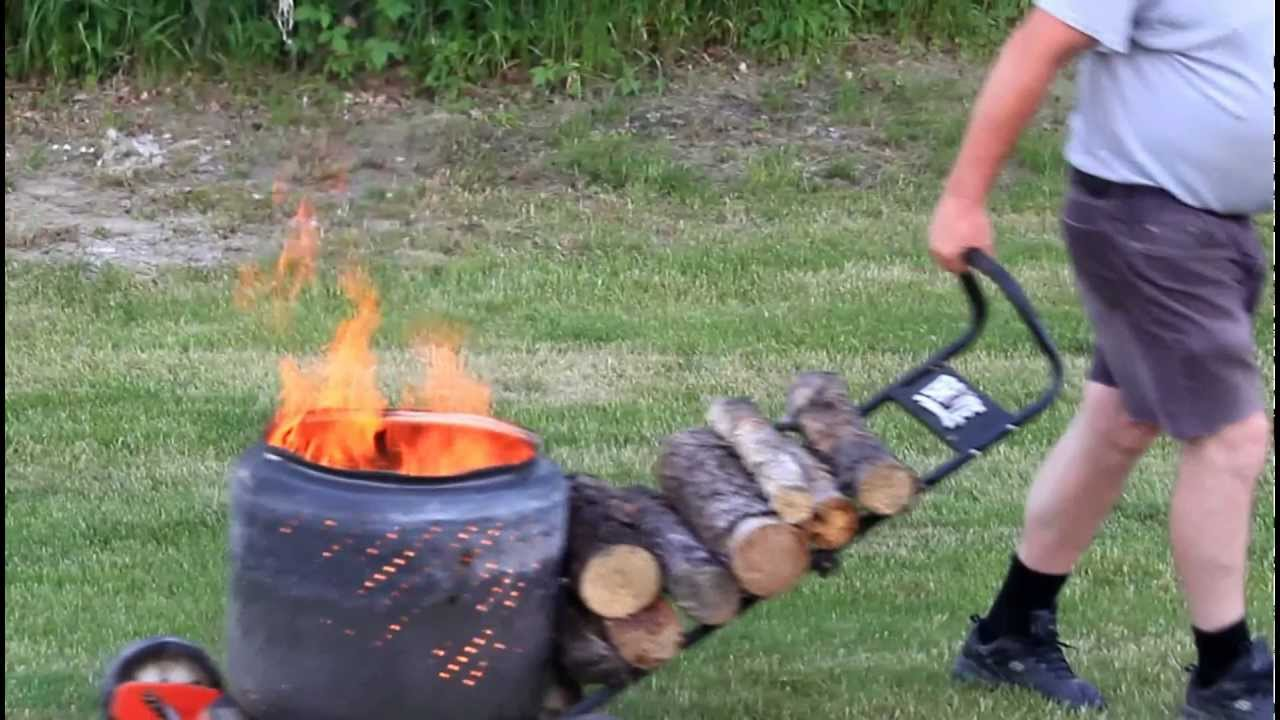 Portable Fire Pit Youtube