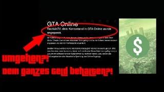 GTA 5 ONLINE | GELD LÖSCHEN UMGEHEN ! 100% REAL | Rectivin