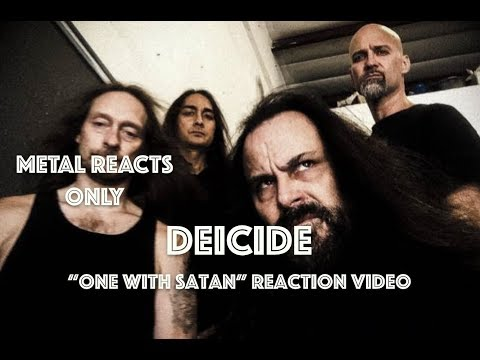 "DEICIDE ""One With Satan"" Reaction Video 