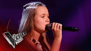 Liv Performs 'Thursday' | Blind Auditions | The Voice Kids UK 2019