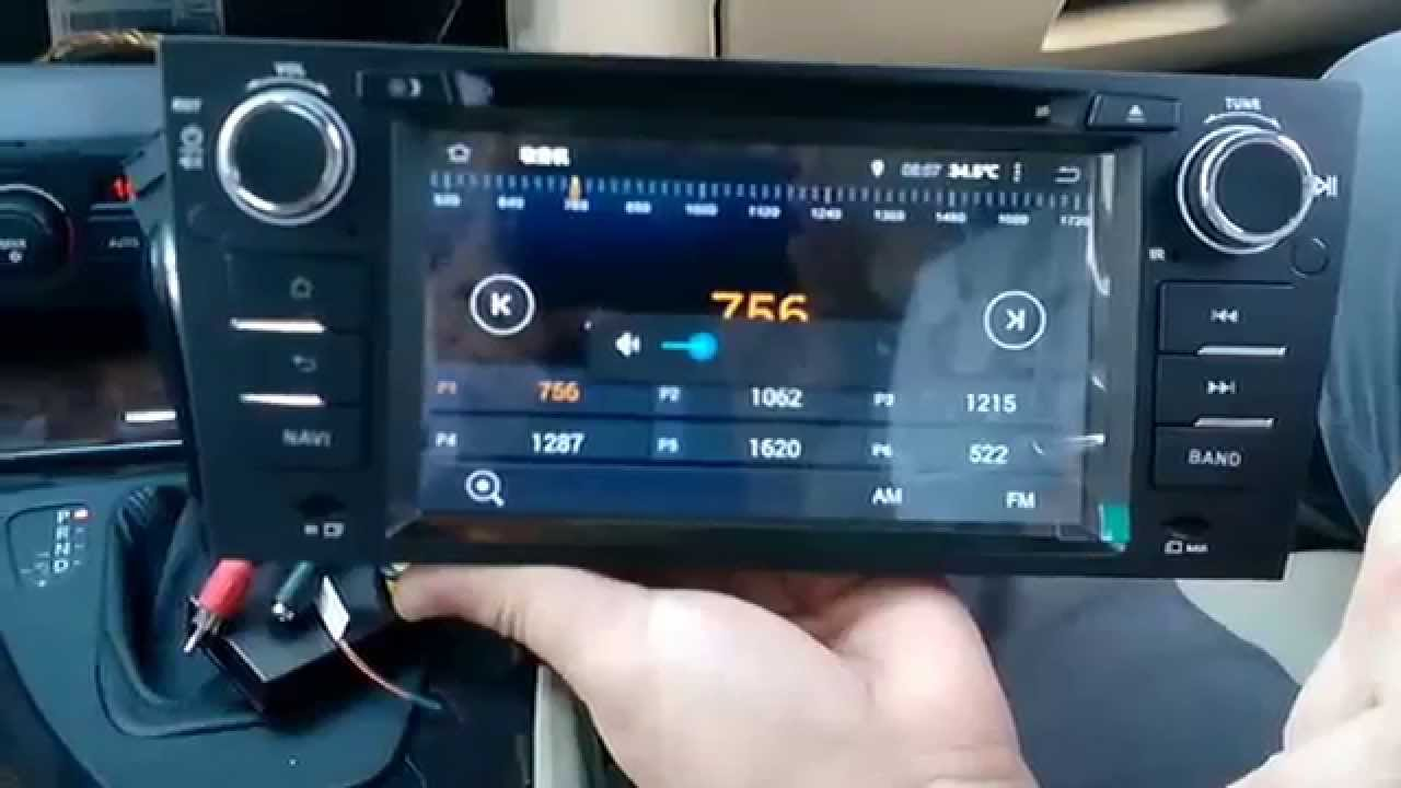 Test radio for Quad core BMW E90 android 444 kitkat GPS