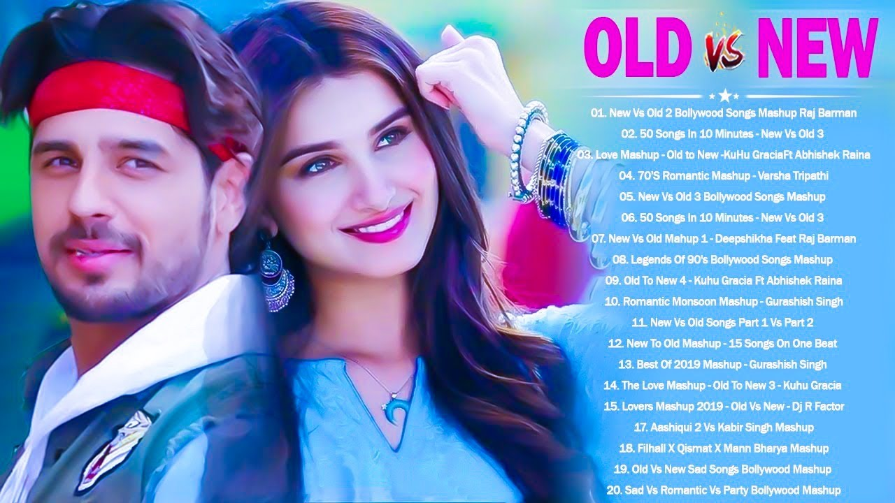 Download Old Vs New Bollywood Mashup 2021   New Hindi Songs Love Songs Mashup - Romantic Mashup 2021