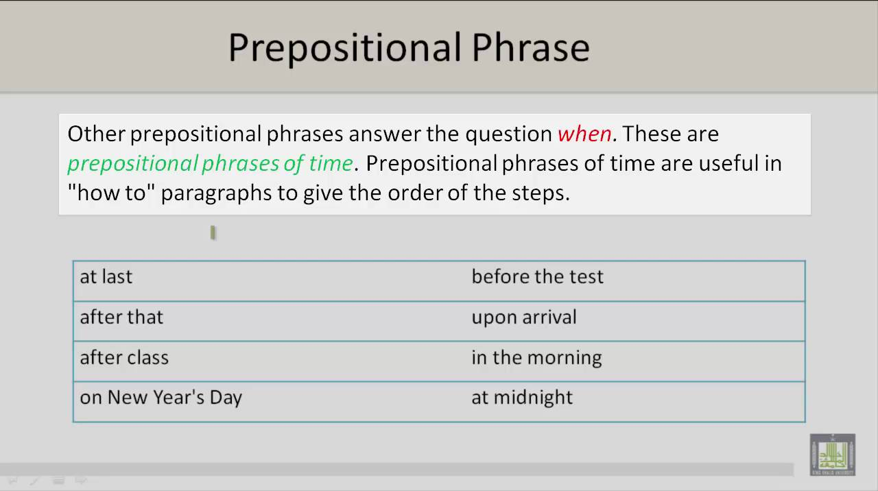 How to write prepositions 54