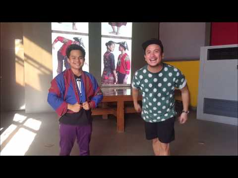 Your Pinoy tour guide: Turn your malong into a jacket in a few steps