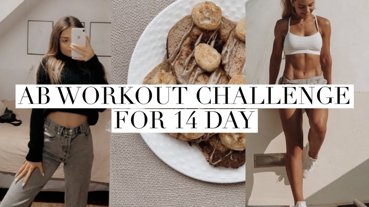I tried GAINSBYBRAINS ab workout for 2 weeks + lots of good eats || workouts and meal/recipe ideas