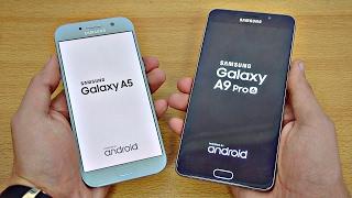 samsung galaxy a5 2017 vs galaxy a9 pro speed test 4k