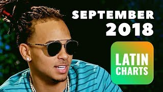 Top Latin/Reggaeton Songs • September 2018 | Latin Charts