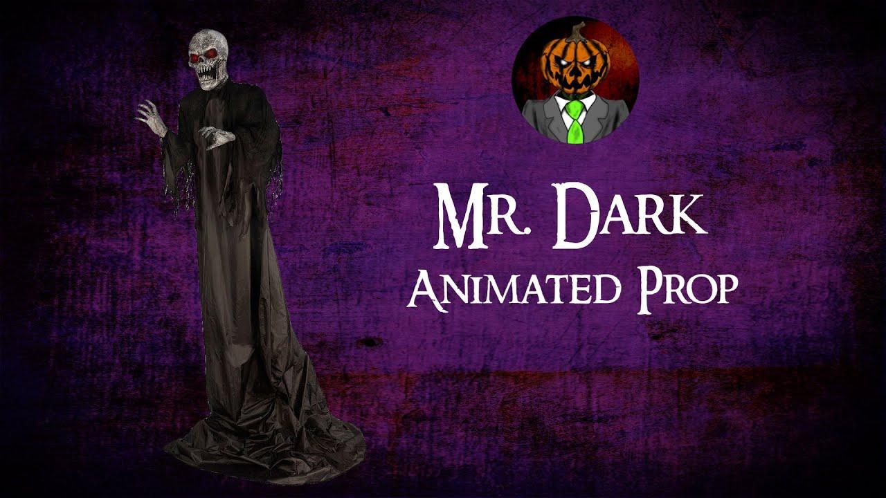 Mr. Dark Animated Prop Demo - Spirit Halloween 2021 Animatronic