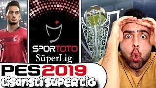 Pes 2019 Da TÜrkİye Spor Toto SÜper Lİg Lİsansli ! İnanilmaz !