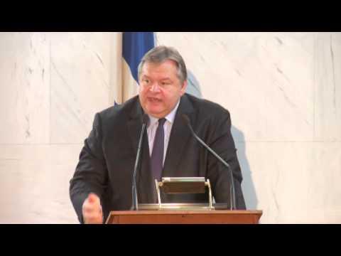 Digital Democracy 2013, Evangelos Venizelos