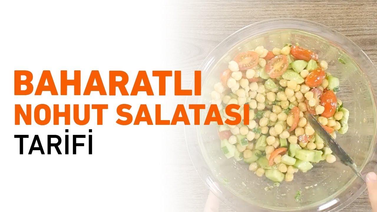 Baharatlı nohut salatası tarifi
