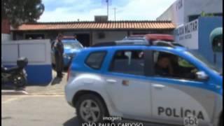 Criminosos atacam DPO da policia militar, em Cabo Frio