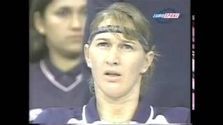 1998 Year Ending Championships 1st Round Steffi Graf vs Jana Novotna