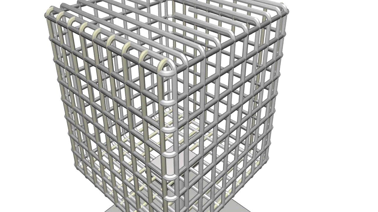 construction simulation concept stainless steel salt water intake