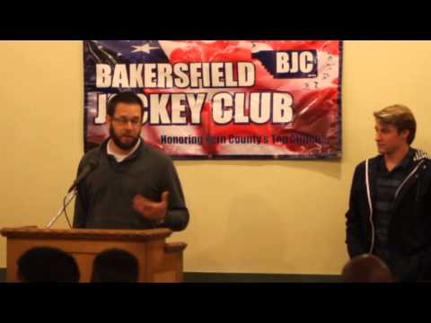 Bakersfield Christian High School Boys Soccer -  Bakersfield Jockey Club Awards Feb 1, 2016