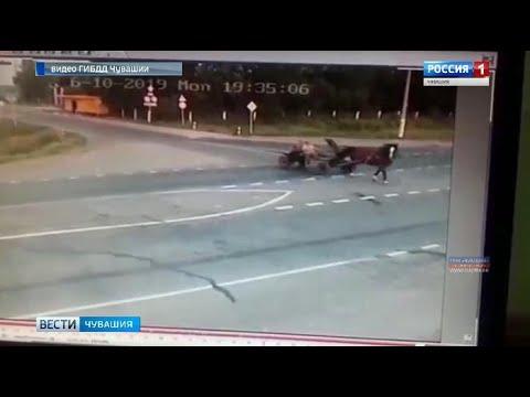 В селе Комсомольском произошло ДТП с участием  гужевой повозки и автомобиля, в котором погибли два ч