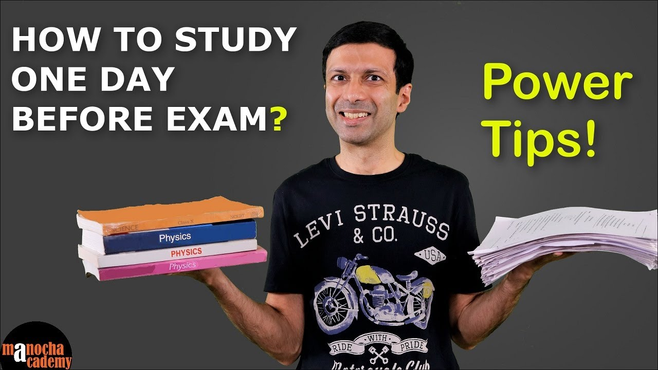 Download How to Study 1 Day Before Exam