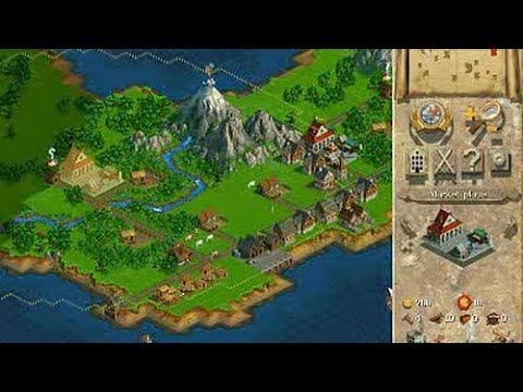 Anno 1602 (1998 • PC/Windows) gameplay, no commentary, max settings