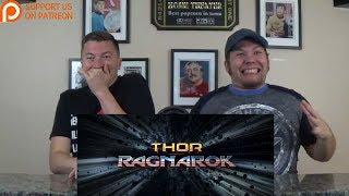 """""""Thor: Ragnarok"""" Official Trailer Reaction!"""