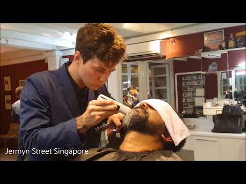 Beard trimming at Jermyn Street Singapore
