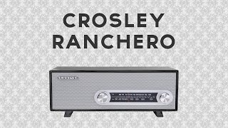 Crosley Ranchero AM/FM/AUX Radio - In-Depth Review