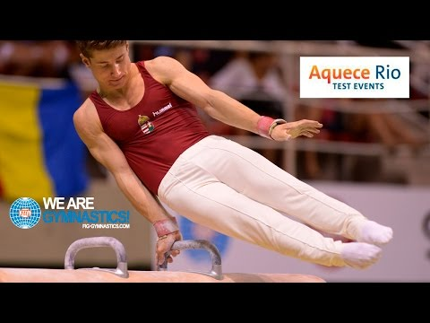NEWS - 2016 Olympic Test Event, Rio (BRA) - Men's Artistic - Individual Rio qualifiers