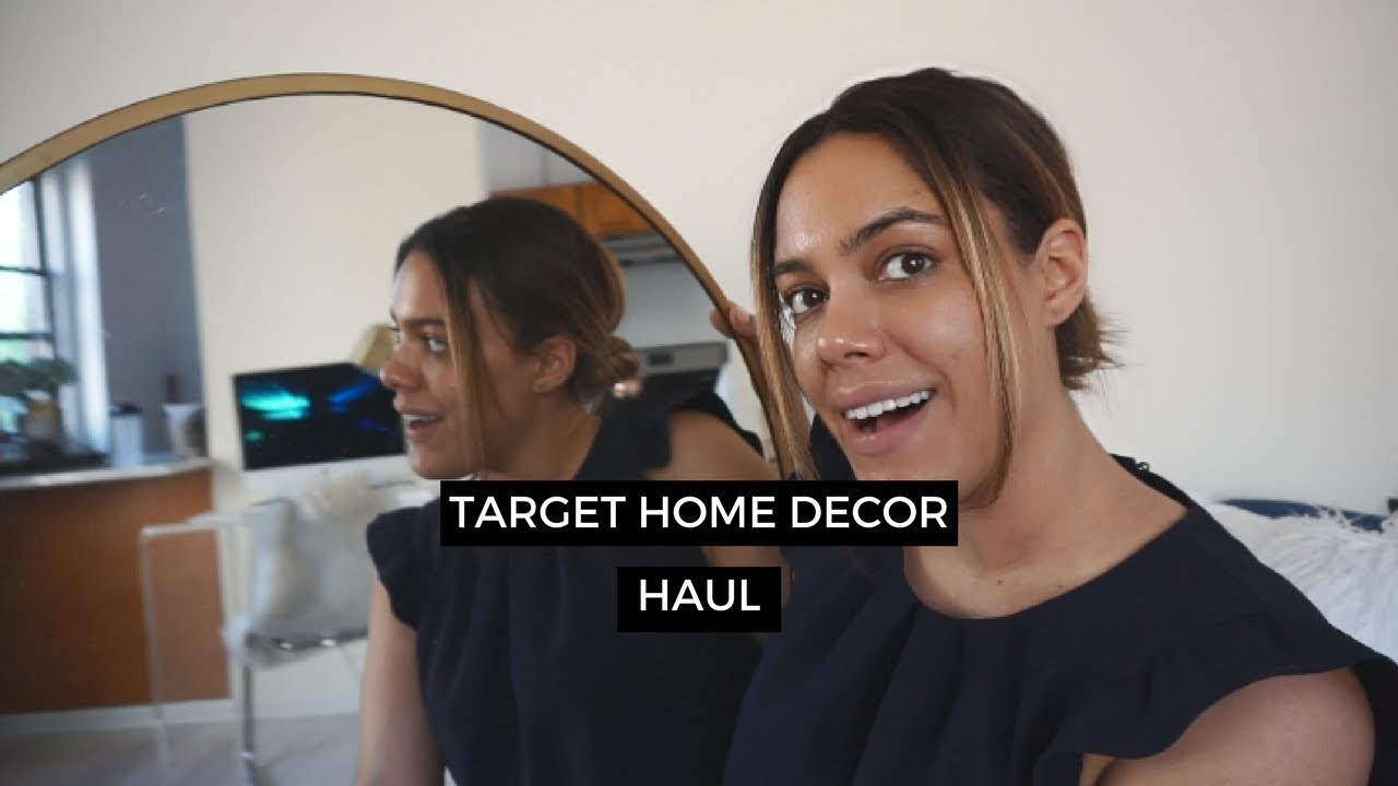 Target Home Decor Haul New Apartment Style Operator