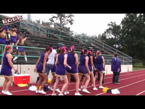 Fisher Middle/High School Dance Troupe From Lafitte, Louisiana 10/08/11