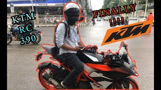 Taking Delivery of KTM Rc 390 | 2019