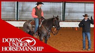 Clinton Anderson: Intermediate Testing, Riding Part 2  Downunder Horsemanship